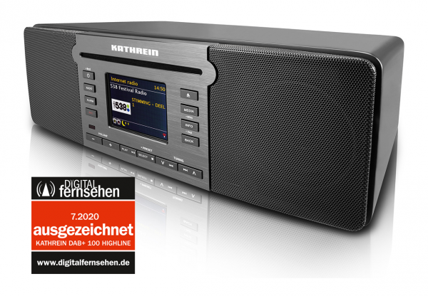 DAB+ Radio, CD-Player, WLAN, Bluetooth, Spotify, Napster, Deezer, Streamingdienste, Internetradio, UKW